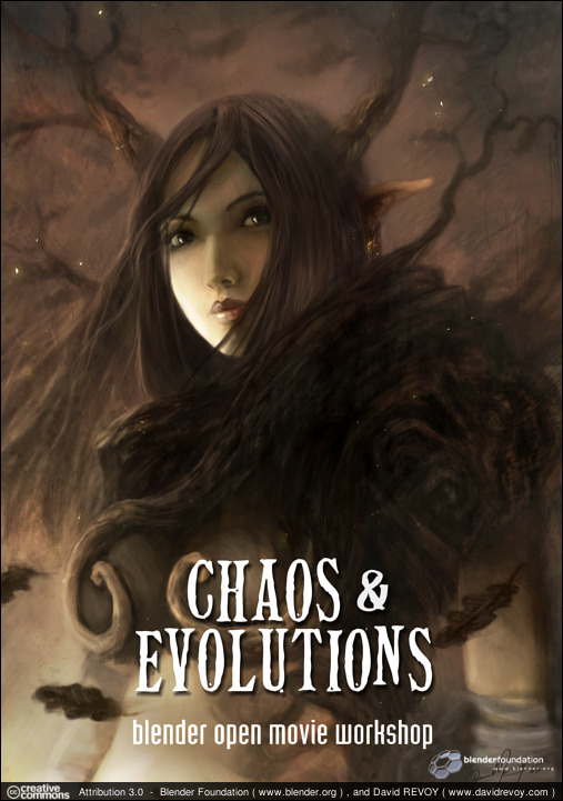 Chaos Evolutions Learn To Make Concept Art