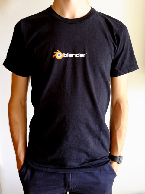 9306873ea81d Black Logo Shirt
